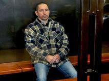 Сергей Егоров, обвиняемый в расстреле девяти человек в посёлке Редкино