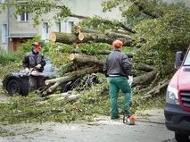 "Последствия урагана ""Ксавье"""