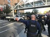Полиция США на месте теракта на Манхэттене