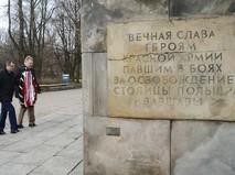 Памятник советским солдатам в Польше