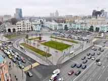Площадь Тверской Заставы после реконструкции