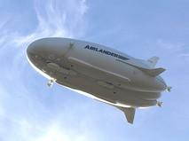 Самый крупный в мире дирижабль Airlander 10