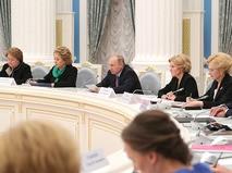 Владимир Путин проводит заключительное заседание Координационного совета по реализации Национальной стратегии действий в интересах детей