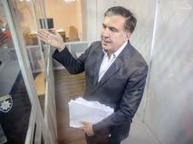 Экс-губернатор Одессы Михаил Саакашвили в Печерском суде