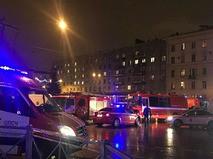Взрыв в торговом центре в Санкт-Петербурге
