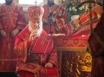 Патриаршее служение в день памяти мученицы Татианы в домовом храме МГУ