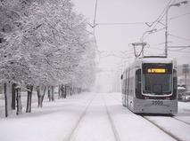 На Москву обрушился мощный снегопад