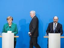 Партийный блок Ангелы Меркель достиг соглашения с социал-демократами о формировании правительства