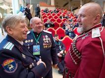 Представители российского казачества