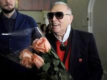 Кутюрье Вячеслав Зайцев отмечает 80-летний юбилей