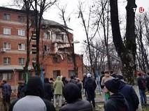 Взрыв газа в жилом доме в Краснодаре