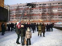 Взрыв газа в жилом доме в Санкт-Петербурге