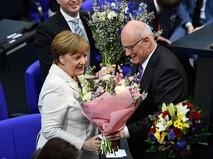 Ангелу Меркель избрали канцлером Германии в четвёртый раз