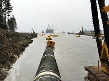 """Строительство газопровода """"Северный поток"""""""