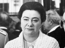 Галина Брежнева, дочь Генерального секретаря ЦК КПСС Леонида Брежнева