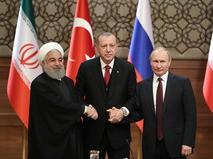 Трёхсторонняя встреча лидеров России, Турции и Ирана