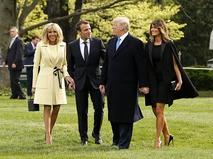 Президент Франции прибыл с государственным визитом в США