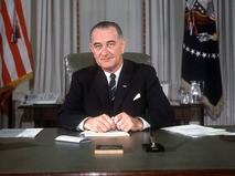 36-й президент США Линдон Джонсон