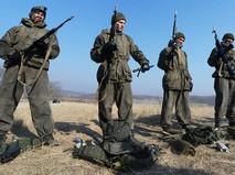 Курсанты Дальневосточного высшего общевойскового командного училища