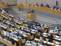 Пленарное заседание Госдумы