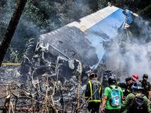 На Кубе разбился пассажирский самолёт.