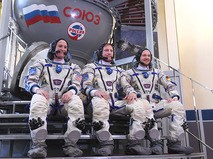 В Звёздном городке состоялись торжественные проводы нового экипажа МКС