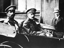 Генерал Лавр Корнилов и лидер партии эсеров Борис Савинков