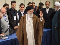 Духовный лидер Ирана Али Хаменеи
