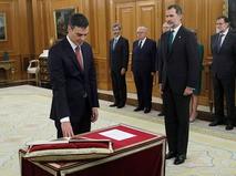 Лидер испанских социалистов Педро Санчес официально вступил в должность премьер-министра Испании