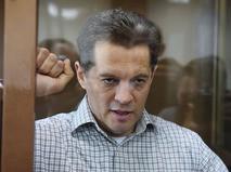 Задержанный в России по обвинению в шпионаже гражданин Украины Роман Сущенко в Мосгорсуде