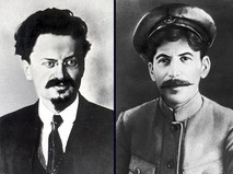 """Троцкий против Сталина"""