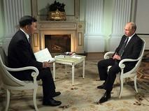 Владимир Путин дал интервью Медиакорпорации Китая