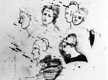 Репродукция рисунка А.С.Пушкина