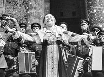 Заслуженная артистка РСФСР Лидия Русланова