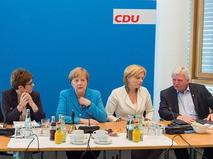 Заседание Христианско-социального союза Германии