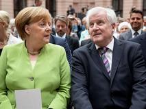 В Берлине завершились переговоры Ангелы Меркель и главы МВД Германии Хорста Зеехофера