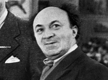 Актёр Соломон Михоэлс