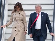 Президент США Дональд Трамп прибыл в Брюссель