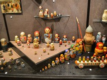 Матрёшки в Музее игрушки в Сергиевом Посаде
