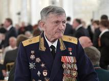 Ветеран войны, Герой Советского Союза Сергей Крамаренко