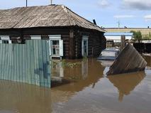 Паводок в Чите