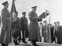 Маршал Советского Союза, министр обороны СССР Андрей Антонович Гречко