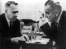 Встреча председателя Совета Министров СССР Алексея Косыгина и президента США Линдона Джонсона в Гласборо