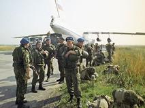 Российские солдаты-миротворцы в Косове