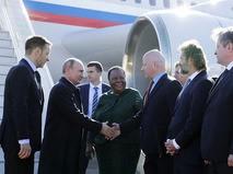Владимир Путин прибыл на X саммит БРИКС