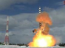 """Запуск ракеты """"Сармат"""" с космодрома Плесецк"""
