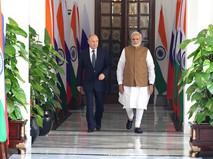 Визит Владимира Путина в Индию