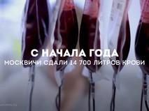 Сдача крови в Москве