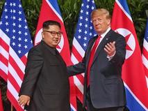 """Обложка. Анонс. """"Ким и Трамп: ядерный переполох"""""""