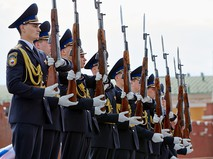 Курсанты Президентского полка